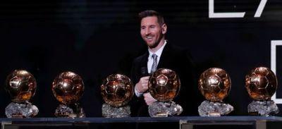 Ballon d'Or : Messi sacré pour la 6e fois !