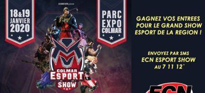 Gagnez vos entrées pour le Colmar Esport Show !