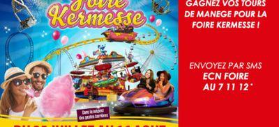 Gagnez vos tours de manège pour la Foire-Kermesse de Mulhouse !