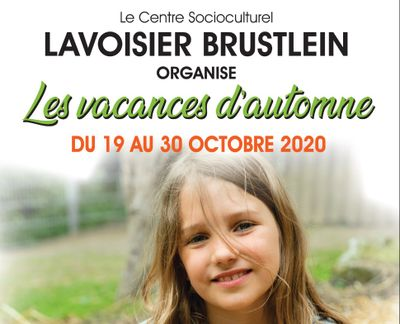 Activités pour les enfants au CSC Lavoisier-Brustlein pendant les...