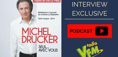 L'interview exclusive de Michel Drucker