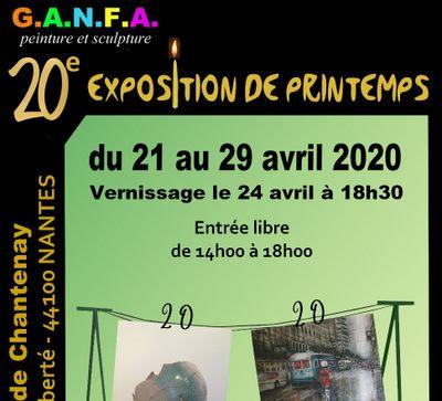 EXPOSITION DE PEINTURES & SCULPTURES