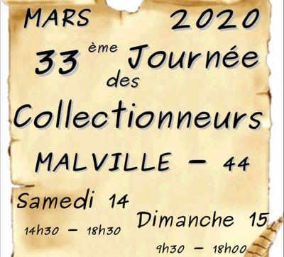 Journée des collectionneurs de Malville   Annullée + de 100 personnes