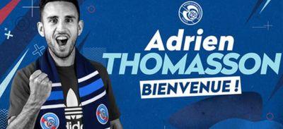 Bye-bye le FCN, direction Strasbourg pour Adrien Thomasson