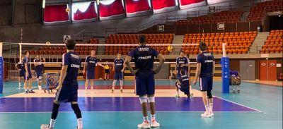 Volley : l'équipe de France en stage à Saint-Nazaire