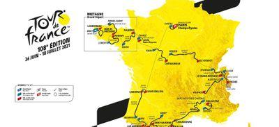 Tour de France 2021 : départ à Brest, mais pas d'étape en...
