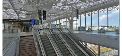 La nouvelle mezzanine de la gare de Nantes ouvre au public ce vendredi