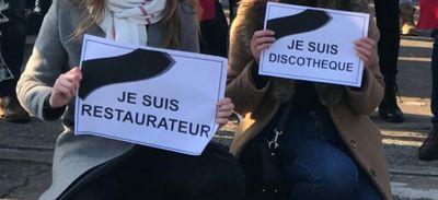 Nantes : Manifestation des restaurateurs