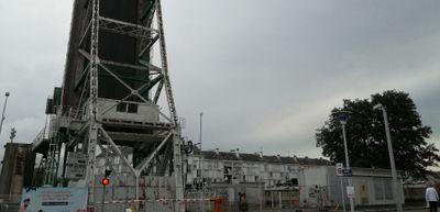 Saint-Nazaire: Le pont levant rouvrira le 14 décembre