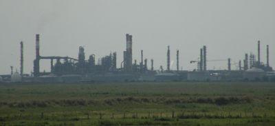 Donges : fuite de pétrole à la raffinerie