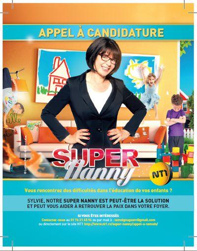 Super Nanny attend vos enfants !