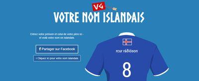 Insolite : découvrez votre nom islandais !