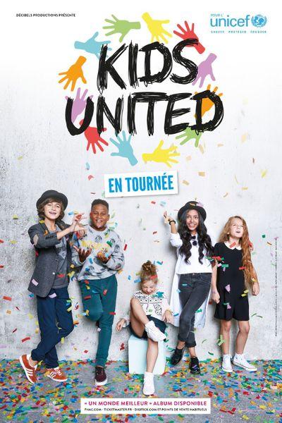 Les Kids United au Zéntih de Nantes