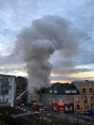 Incendie à Nantes quartier Mangin : une dizaine de personnes évacuée