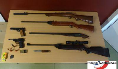 Rezé : saisie d'armes après un différend dimanche soir