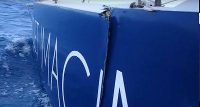 Vendée Globe : le bateau de Thomas Ruyant menace de se couper en...