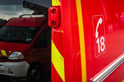 Une chaumière détruite par le feu à Herbignac
