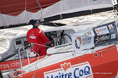 Vendée Globe : Jérémie Beyou, troisième, attendu ce lundi soir aux...