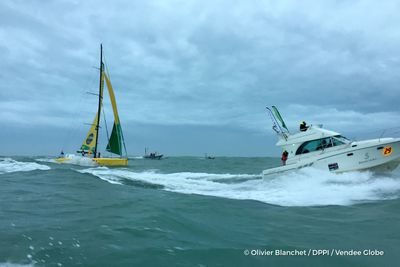 Vendée Globe : Louis Burton, septième skipper à franchir la ligne...