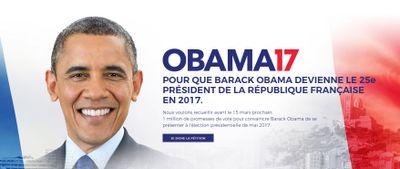Insolite : Barack Obama président de la France ?