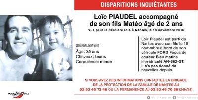 Nantes : portés disparus depuis novembre, un père et son fils...