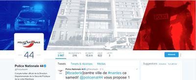 Insolite : l'humour des policiers de Loire-Atlantique à l'occasion...