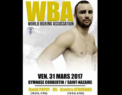 Boxe : David Papot à Saint-Nazaire ce vendredi soir pour une...