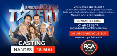 """RCA partenaire de """"La France a un Incroyable Talent"""" !"""