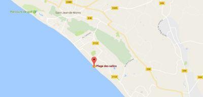 Le nageur disparu à Saint-Hilaire-de-Riez retrouvé décédé