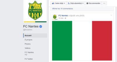 On dirait que le FC Nantes a une nouvelle a nous annoncer...