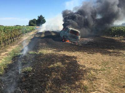 Trois gendarmes sauvent un octogénaire des flammes