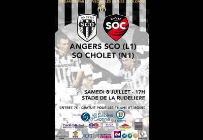 Le SCO d'Angers en match amical ce samedi aux Sables d'Olonne