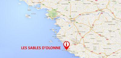 Les Sables d'Olonne : une camionnette force un barrage, un homme...