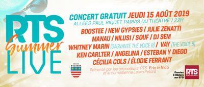 RTS Summer Live à la féria de Béziers 2019 !!!