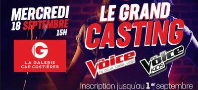 Casting The Voice & The Voice Kids à Nîmes