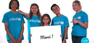 Les Kids United Nouvelle Génération soutiennent l'UNICEF