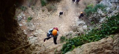 Insolite : gravir le Pic Saint-Loup par sa face nord en randonnée...