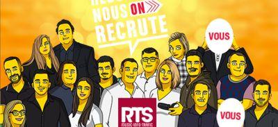 RTS recrute un animateur-technico-réalisateur (H ou F).
