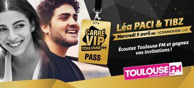 Léa Paci et Tibz invités du prochain Carré VIP