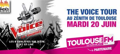Mardi 20 Juin journée spéciale The Voice avec les 8 finalistes