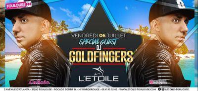 DJ Goldfingers à l'Etoile vendredi 6 juillet 2018