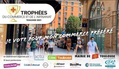 Toulouse FM partenaire des trophées du commerce et de l'artisanat !