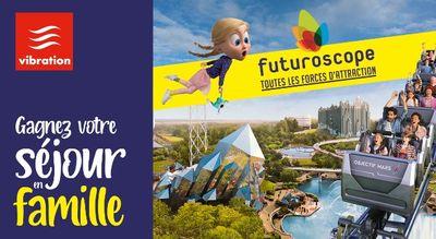 Gagnez votre séjour en famille au Futuroscope