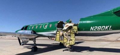 Etats-Unis : un avion coupé en deux atterrit dans un aéroport après...