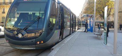 Bordeaux : circulation des trams stoppée sur la ligne C
