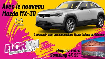 Gagnez votre TV avec le nouveau Mazda MX-30