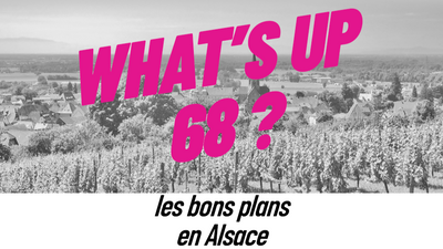 WHAT'S UP 68 : L'AGENDA DU 27 AVRIL