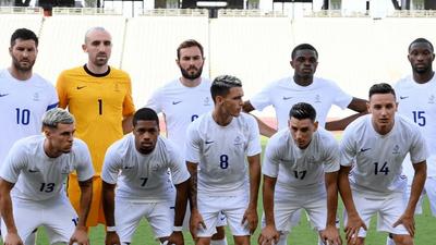 JO 2021 : les Bleus s'inclinent 4-1 pour leur premier match face au...