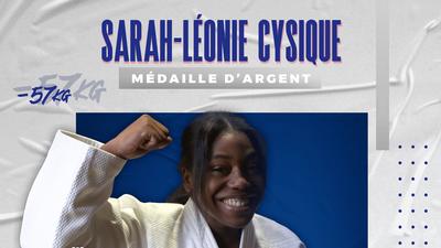 JO 2020 : la judoka française Sarah-Léonie Cysique décroche la...