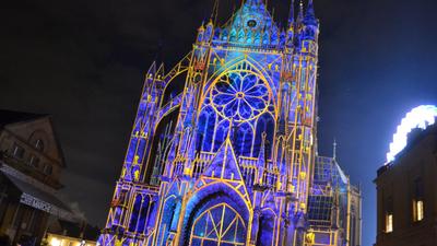 Constellations à Metz : Mise en place d'une jauge pour le mapping...